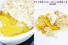 Pfirsich-Milchreis Crumble