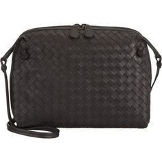 Bottega Veneta Small Intrecciato Square Messenger Bag