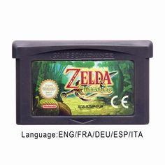 Nintendo 32 Bit Video Game Cartridge Console Card TheLegendofZelda Series English Language Edition