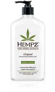 Hempz Original Scent Lotion for sensitive or eczema prone skin