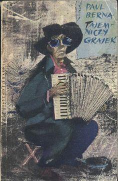Tajemniczy grajek, Paul Berna, Nasza Księgarnia, 1960, http://www.antykwariat.nepo.pl/tajemniczy-grajek-paul-berna-p-12919.html