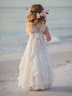 11 Best Flower Girl Beach Wedding Images Flower Girl Beach