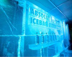 ABSOLUT icebar, Stockholm, Sweden
