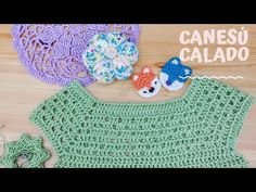 Crochet flap for dress 6 months Crochet Toddler Dress, Crochet Baby Dress Pattern, Crochet Yoke, Crochet Collar, Baby Girl Crochet, Crochet Blouse, Crochet Granny, Crochet For Kids, Crochet Stitches