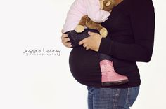 When the time is right...How precious is this maternity photo?! Mom and toddler- Maternity, Southern Maryland Photographer » Jessica Lacey Photography