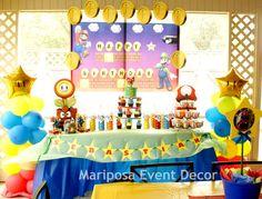 "Photo 1 of 17: MARIO BROS / Birthday ""Mario Bros Sebastian's Bday Bash "" | Catch My Party"