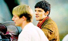 Merlin always has sass written all over his face