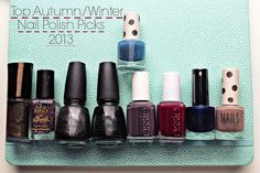 My Top Autumn/Winter Nail Polish Picks 2013