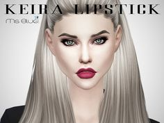 The Sims Resource: Keira Lipstick by Ms Blue • Sims 4 Downloads