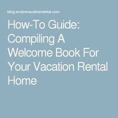 d29251ad69348f1ec3118f6f12f141e3 Vacation Rental Welcome Letter Template on startup cost accounting, near meguidebook,