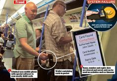 How 'wi-fi' credit cards can be plundered by cyber identity thieves exploiting contactless payment technology Identity Thief, Automated Teller Machine, Oyster Card, Pin Card, Cyber, Wifi, Technology, Website, Bay Area