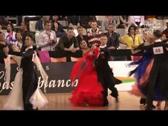 Sergei Konovaltsev - Olga Konovaltseva, RUS | dance the second round Tango at the 2013 GrandSlam Standard in Cambrils