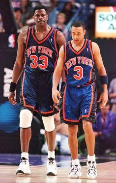 bd7e3a419 Patrick Ewing and John Starks. Brian Leggett · Basketball - New York Knicks