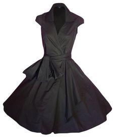 LOOK FOR THE STARS Retro Vintage Kleid Abend Party 50er Jahre Stil