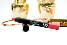 Review Golden Rose Matte Lipstick Crayon