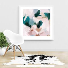 All of our abstract fine art prints are printed on demand and cut by hand. The materials that we use are high quality and archival. Your beautiful print will last a long time with proper care. PAPER PRINTS: Processing time is 8-10 business days. Printed on a heavy weight smooth