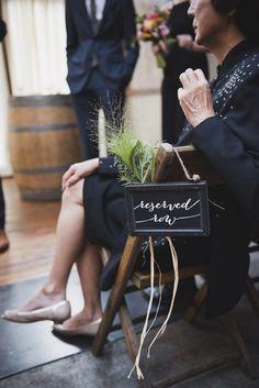 #weddingsignage #weddingscript #brooklynwinery © Khaki Bedford Photography / www.khakibedfordphoto.com
