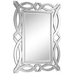 """Fabre Openwork 28"""" x 40"""" Wall Mirror 381"""