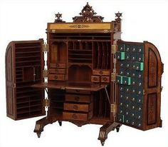 bricolage: The Wooton's Patent Desk ~ The King of Desks!