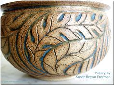 Pottery by Susan Brown Freeman
