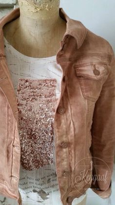 Hip rose jasje met shirt www.keygaaf.nl