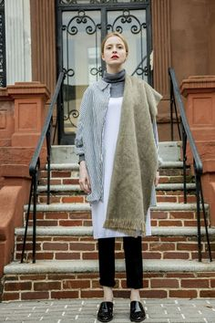 How Orthodox Jewish women are giving the slip dress a modest—and season-appropriate! Modest Fashion, Women's Fashion Dresses, Slip Dress Outfit, Slip Dresses, Dress Clothes, Manhattan, Layering Trends, Brooklyn, Style