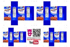 Milk Parmalat 9 March 2017-03 — Postimage.org Snack Recipes, Snacks, Diy Videos, Frosted Flakes, Pop Tarts, Cereal, Easy Diy, Vanilla, Milk