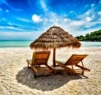 Two lounge chairs under tent on beach. Vacation holidays background wallpaper - , Two lounge chairs under tent on beach. Beach Images, Beach Pictures, Nature Pictures, Beach Lounge Chair, Beach Chairs, Lounge Chairs, Tahiti, Motif Oriental, Indoor Trees