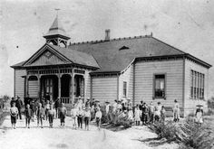 Thousands of historical photos are available online through the Online Archive of California, including this one of the Placentia School circa 1884