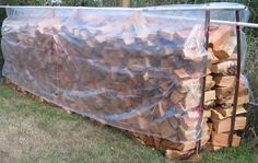 Drying and Storing Firewood A very good article when collecting wood after rain.