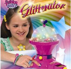GOD I LOVE AND MISS THIS. Could the Glitterator have been the best toy of the 90's?