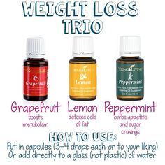 Young Living Essential Oils: Grapefruit Lemon Peppermint for Weight Loss. Member 1946980