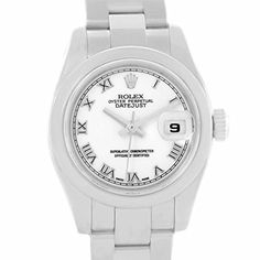 Women's Certified Pre-Owned Watches - Rolex Datejust automaticselfwind womens Watch 179160 Certified Preowned -- Details can be found by clicking on the image.