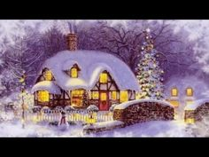 Thomas Kinkade Christmas Cottage - I've Always Loved This Picture!
