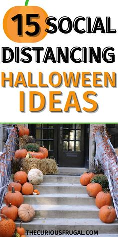 With virtual birthday parties becoming the norm (for now!), and with fall just around the corner, I started thinking about what Halloween 2020 is going to look like. I still want to make is special, our kids are only little once. I came up with 15 fun social distancing Halloween ideas that I think you're going to love too! #halloweenideas #socialdistancing #virtualparties #parentingtips #holidaytips #pandemic