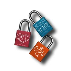 Design your personalized Love Lock with our interactive designer!