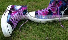 2013 #Galaxy Shoes galaxy canvas shoes hand painted galaxy galaxy,High-top Painted Canvas Shoes