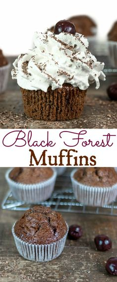 Super rich in flavour, light and fluffy these Black Forest Muffins tick all the right boxes plus they are easy to make and best of all they can be on your table within the hour!