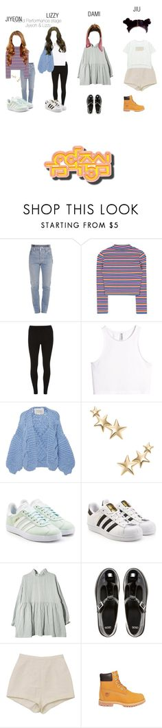 """""""《FINAL STAGE》Xvolution - Cupid @After School Club"""" by princesslila2 ❤ liked on Polyvore featuring Vetements, Dorothy Perkins, H&M, I Love Mr. Mittens, Kenneth Jay Lane, adidas Originals, ASOS, Timberland and Chicnova Fashion"""