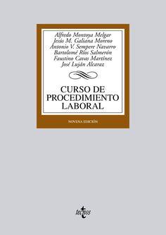 Curso de procedimiento laboral / Alfredo Montoya Melgar ... [et al.] - 9ª ed. - 2012