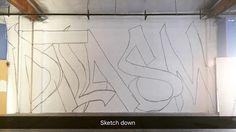 Gettin that work...#art#streetart#artist#drawings#graffiti#spraypaint#cansoncans#colors#gettingup#painting#graff#urbanart#acrylic#wood#canvas#graffitiart#studiolife#creativity#artoftheday#artiststudio#art_spotlight#design#graffitiisart#graffitiartist by jrw_95