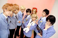 ouran highschool host club cosplay
