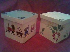 Fotos de cajas pintadas a mano artesanales - Capital Federal ...