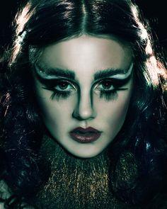 Dark angle-  circus make-up, Final shoot! design/hair/make-up: Charlemagne smithies