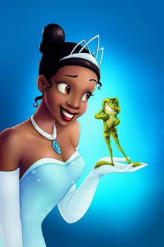 The Princess and the Frog Cartoon movie posters NO 2