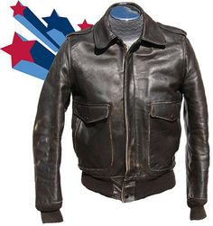 Details about SCHOTT VINTAGE LEATHER BOMBER FLIGHT JACKET- BROWN