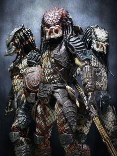 These are some fighting people here Alien Vs Predator, Predator Action Figures, Predator Movie, Predator Alien, Sci Fi Fantasy, Dark Fantasy, King Kong, Science Fiction, Aliens Movie