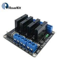 4 Canal 5 V DC Relais Module Solid State Haute Niveau SSR AVR DSP pour Arduino
