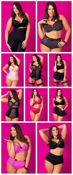 6d7c1e9cf4db0 Being a plus-size beauty does not mean they have to shy away from wearing  high fashion stylish clothes.