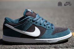 Nike SB Dunk Low – Slate Blue  Those are encores actually